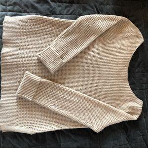 GAP Beige Scoop Neck Sweater
